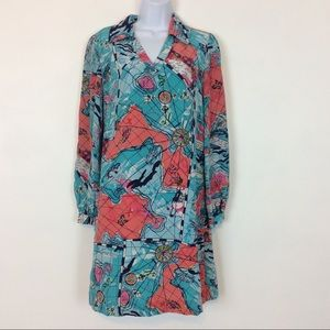 Lilly Pulitzer Wayles X Marks The Spot Dress AS IS